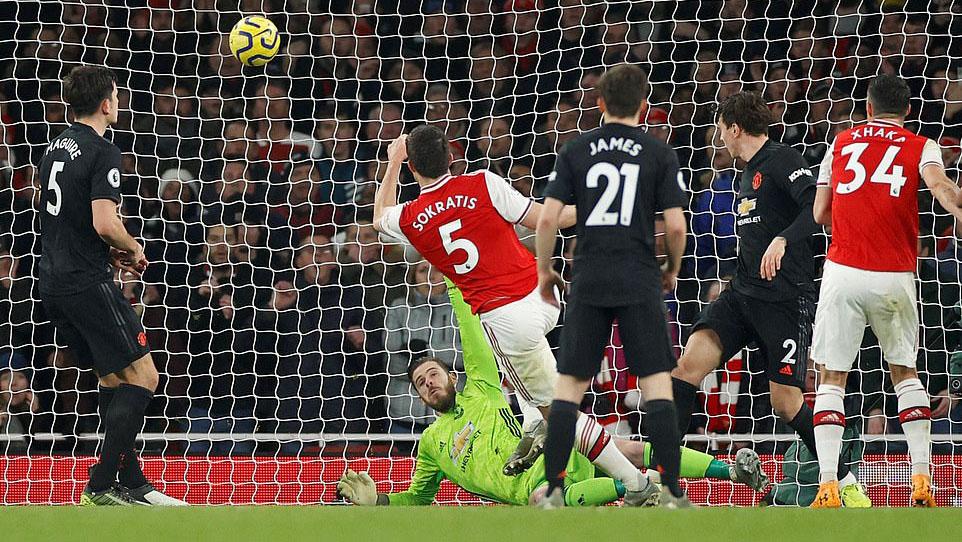 ket qua bong da Anh, trực tiếp bóng đá Anh, ket qua Arsenal vs MU, trực tiếp MU vs Arsenal, Truc tiep bong da, xem trực tiếp bóng đá ngoại hạng Anh, BXH bong da Anh, Pepe, Sokratis
