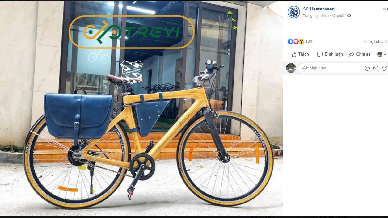van hau, sc Heerenveen, bóng đá, văn hậu, Trevi - Bamboo Bike, lịch thi đấu, trực tiếp bóng đá, Hà Lan, xe đạp
