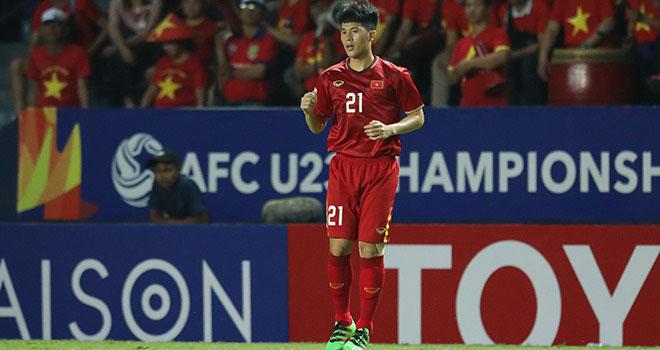 Bong da, bong da hom nay, Đình Trọng bị thẻ đỏ, Đình Trọng bị treo giò, ket qua bong da, U23 Việt Nam vs Triều Tiên, kết quả VCK U23 châu Á, bảng xếp hạng U23 châu Á 2020