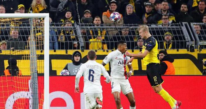ket qua bong da hôm nay, Erling Haaland, erling haaland, haaland, kết quả bóng đá, Dortmund 2-1 PSG, kết quả Cúp C1, kết quả Dortmund vs PSG, Cúp C1, Champions League, lich thi dau bong da, trực tiếp bóng đá