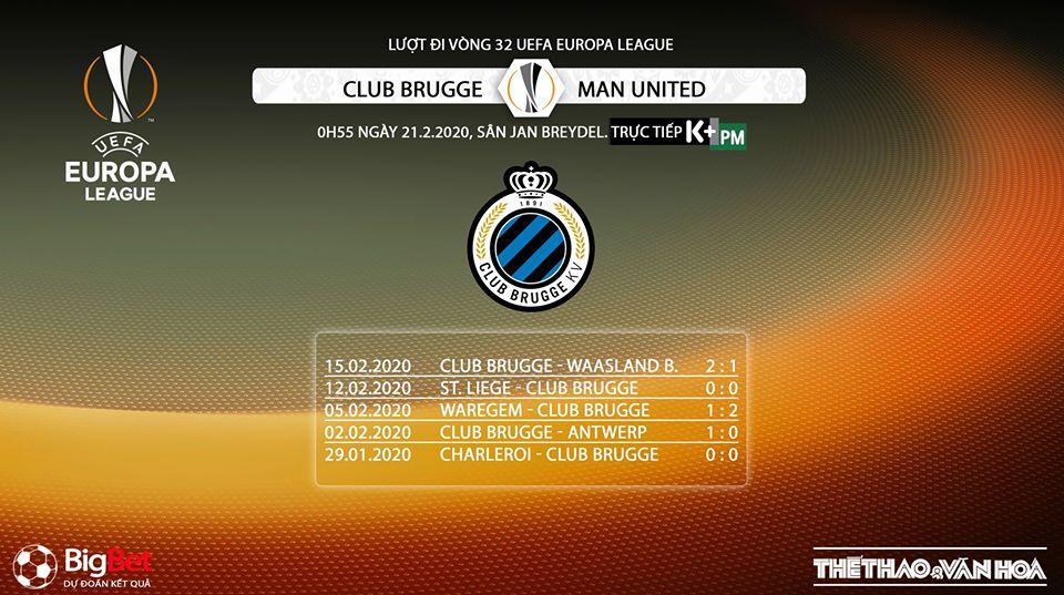 Club Brugge vs MU, Club Brugge, MU, bóng đá, bong da, trực tiếp bóng đá, lịch thi đấu, Europa League, Cúp C2, trực tiếp Club Brugge vs MU