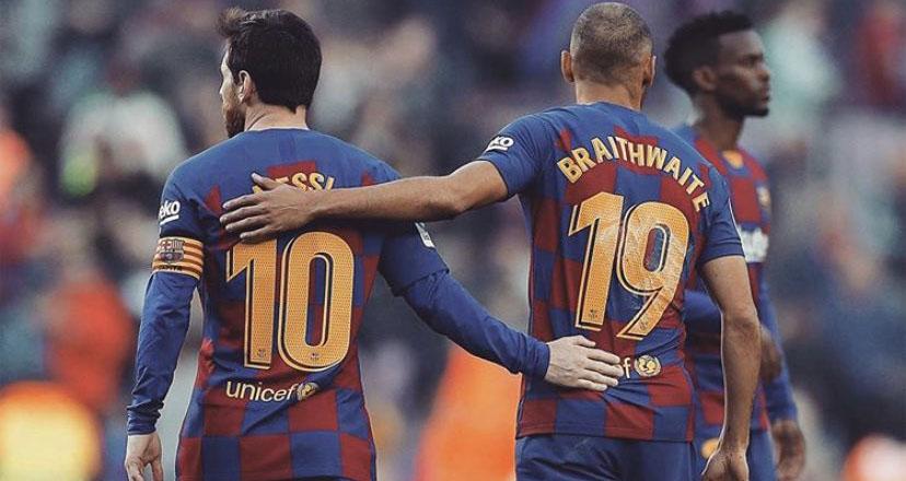 Braithwaite, Martin Braithwaite, Messi, Lionel Messi, Barcelona, Eibar, La Liga, poker, lịch thi đấu bóng đá, bong da