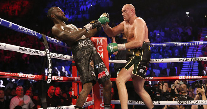 Deontay Wilder, tyson fury, Quyền anh hạng nặng, Tyson Fury vs Deontay Wilder, đai WBC hạng nặng, boxing
