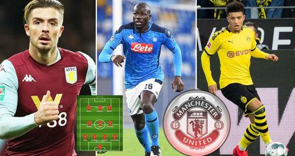 MU, Manchester United, bóng đá, manchester united, watford, Kalidou Koulibaly, Jack Grealish, Jadon Sancho, premier league, ngoại hạng anh, K+, K+PM