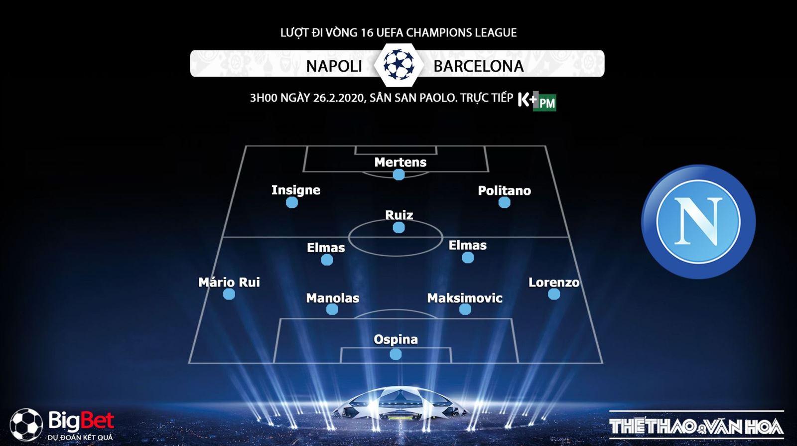 Napoli vs Barcelona, Barcelona, soi kèo, lịch thi đấu, Cúp C1, Champions League, trực tiếp bóng đá, K+PC, K+PM, nhận định Napoli vs Barcelona, dự đoán Napoli vs Barcelona