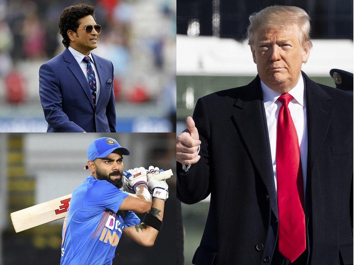 Tổng thống Mỹ Donald Trump gặp sự cố khi phát âm tên 2 VĐV nổi tiếng của Ấn Độ