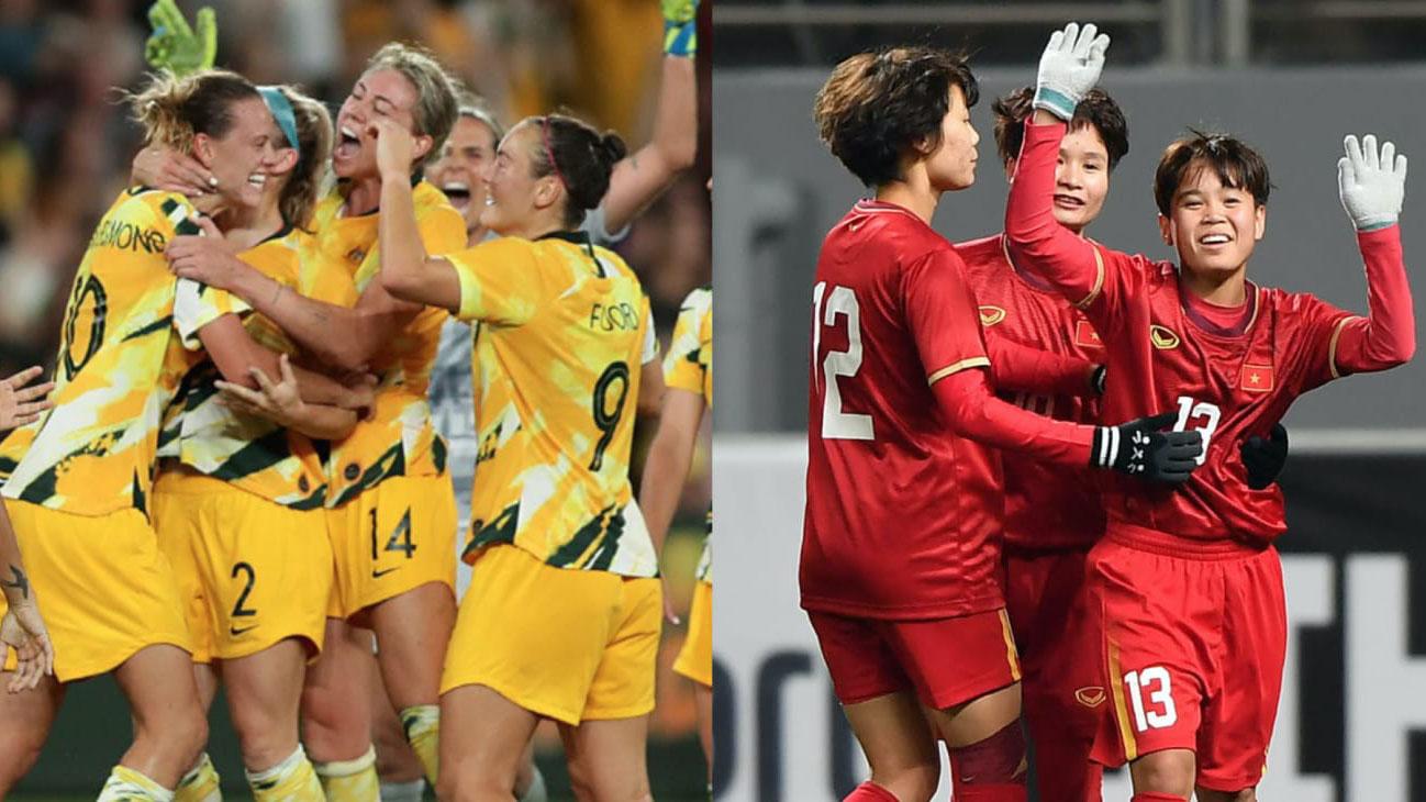 Xem bóng đá trực tiếp hôm nay: Nữ Việt Nam đấu với Úc (Australia). Bóng đá TV, VTC3