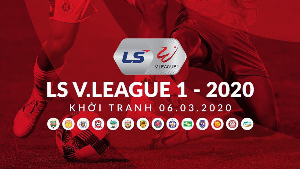 Lịch thi đấu bóng đá vòng 1 V-League 2020. Trực tiếp VTV6, VTV5