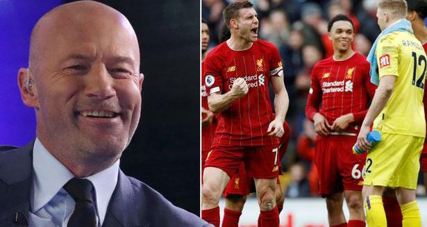 Bong da, Bong da hom nay, Alan Shearer, Trao chức vô địch sớm cho Liverpool, không công bằng, Liverpool, Covid-19, virus corona, Ngoại hạng Anh, hoãn Ngoại hạng Anh