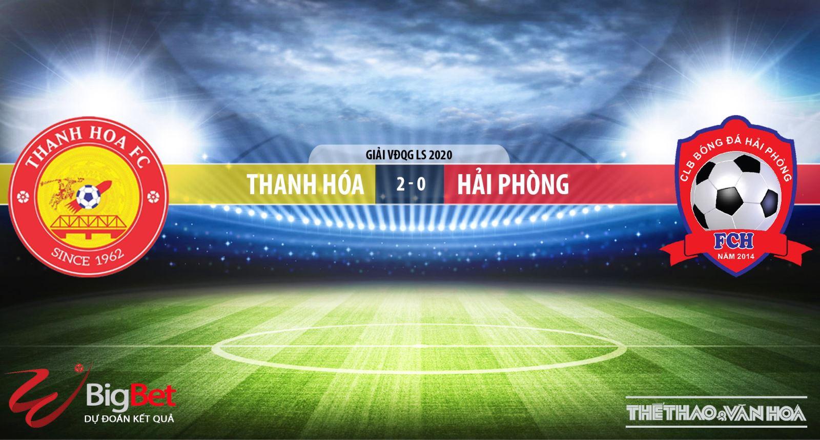 Thanh Hóa đấu vớiHải Phòng, Thanh Hóa vs Hải Phòng, bong da, bóng đá, soi kèo, trực tiếp Thanh Hóa đấu với Hải Phòng, lịch thi đấu, V League, TTTTHD