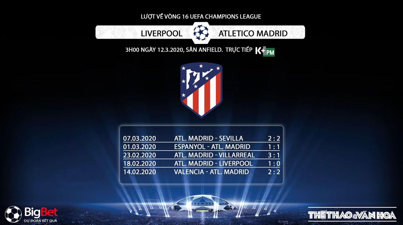 Liverpool vs Atletico Madrid, Liverpool, Atletico Madrid, trực tiếp bóng đá, lịch thi đấu bóng đá, bóng đá, bong da, Cup C1, K+PM, K+PC, trực tiếp bóng đá