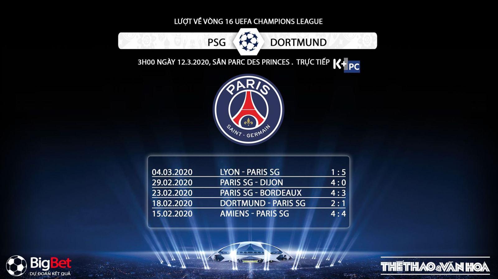 PSG vs Dortmund, PSG, Dortmund, trực tiếp bóng đá, lịch thi đấu bóng đá, PSG, K+PC, K+NS, bóng đá, trực tiếp bóng đá, Cúp C1