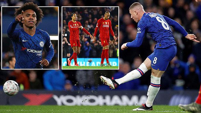 Chelsea 2-0 Liverpool: Vỡ mộng ăn ba