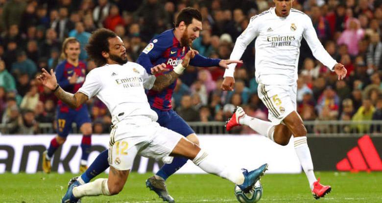 ket qua bong da, Real Madrid vs Barcelona, video Real Madrid 2-0 Barcelona, kqbd, bxh Tây Ban Nha, bxh Liga, cuộc đua vô địch, Zidane vs Quique Setien, Messi, Vinicius