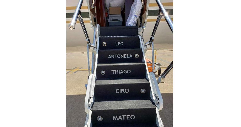 bong da, bóng đá, máy bay cá nhân, lionel messi, barcelona, barca, máy bay