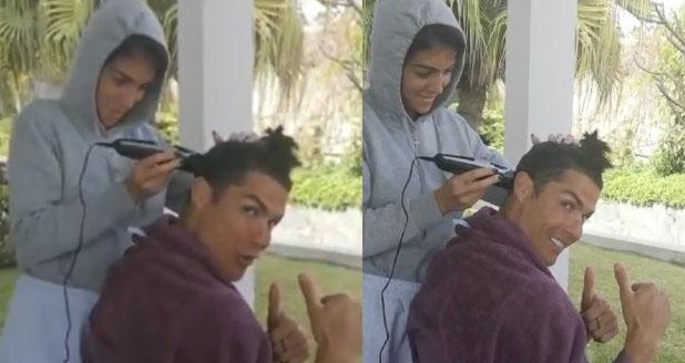 Ronaldo, Cristiano Ronaldo, bóng đá, bong da, bong da hom nay, fan nhí, Chelsea, cắt tóc, ronaldo béo