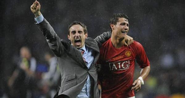 bong da, bong da hom nay, bóng đá, Ronaldo, Cristiano Ronaldo, MU, Manchester United, Gary Neville, Real Madrid, tin tức MU