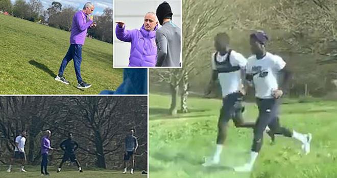 Bong da. Bóng đá. Tin tức bóng đá. Mourinho vi phạm lệnh cách li xã hội. Covid19, jose mourinho, tottenham, cách ly xã hội, giãn cách xã hội, COVID-19, bong da hom nay