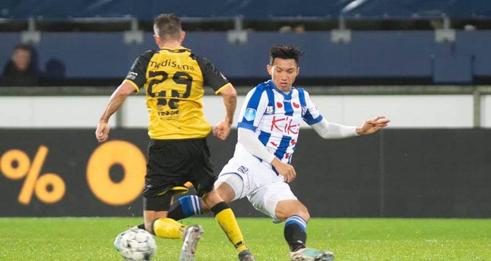 Bóng đá, tin bóng đá, Văn Hậu, MU, manchester united, Harry Kane, tin mu, Heerenveen, SC Heerenveen