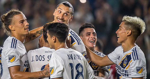 bóng đá, bong da, ibrahimovic, zlatan ibrahimovic, MLS, LA Galaxy, thụy điển