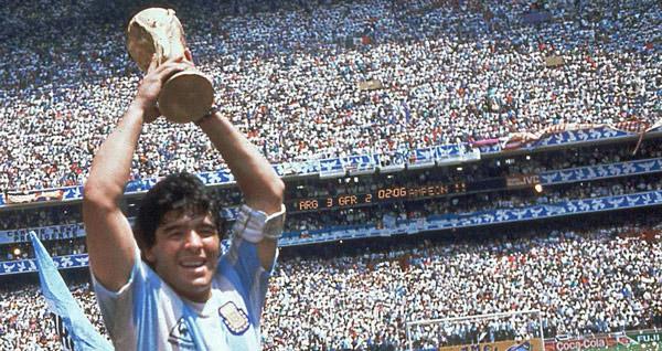 bóng đá, bong da, diego maradona, world cup 1986, argentina, mexico, maradona, world cup