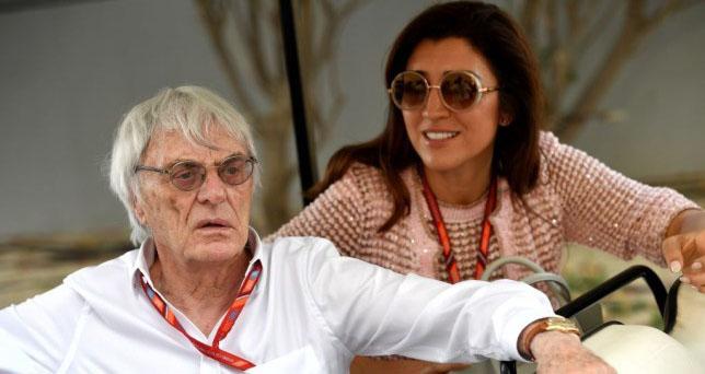 F1, ông trùm F1, Bernie Ecclestone, tuổi 89, Fabiana Flosi, công thức 1