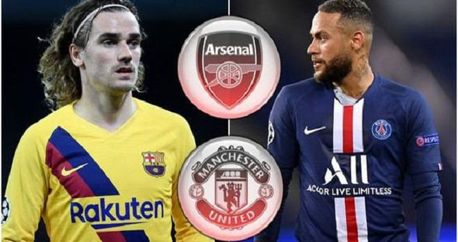 bóng đá, bong da, Barcelona, Barca, trực tiếp bóng đá, Antoine Griezmann, Neymar, chuyển nhượng, PSG, tin tức bóng đá