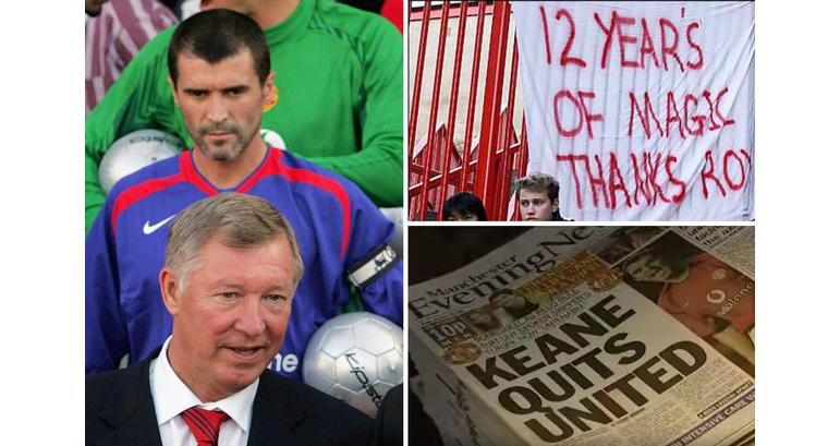 bóng đá, bong da, mu, manchester united, roy keane, sir alex, tin tức bóng đá, tin tức mu