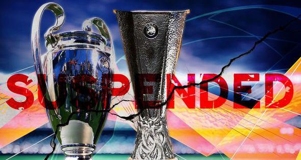 UEFA, Cúp C1, Cúp C2, Champions League, Europa League, bóng đá, bong da, bong da hom nay, Covid-19, virus corona