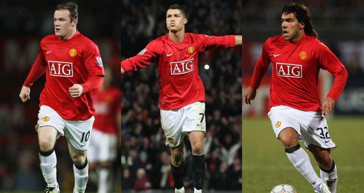 Nc247info tổng hợp: 'Ronaldo, Rooney và Tevez là bộ ba tấn công