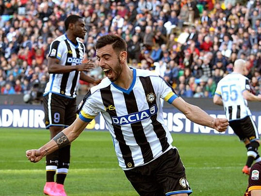 Udinese: Bệ phóng cho Alexis Sanchez, Bruno Fernandes, Odion Ighalo,...