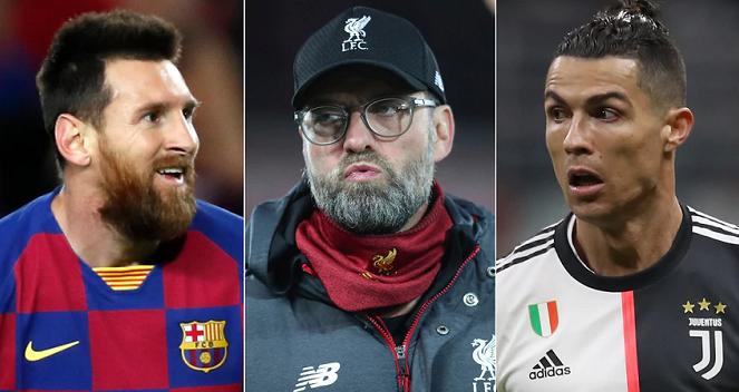 bóng đá, bong da, bong da hom nay, Messi, Ronaldo, Juergen Klopp, Juventus, Barcelona