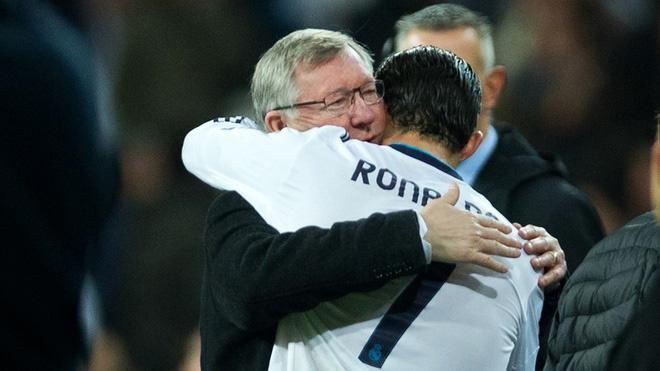 MU: Với Ronaldo, Sir Alex luôn là người cha vĩ đại nhất trong thế giới bóng đá