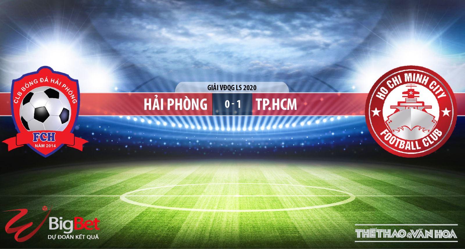 Hải Phòng vsThành phố Hồ Chí Minh, Hải Phòng, TP.HCM, soi kèo bóng đá, nhận định, trực tiếp bóng đá, kèo bóng đá, VTV6, VTV5, BĐTV