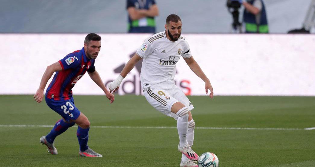 bóng đá, bong da, bóng đá hôm nay, real madrid, real madrid vs eibar, real madrid 3-1 eibar, eibar, hazard, benzema