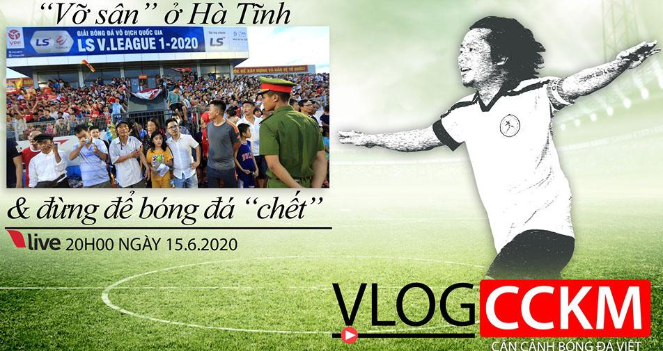 bóng đá, bóng đá việt nam, hà tĩnh, vỡ sân, CCKM, Trần Hải, V-League
