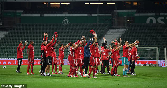 Ket qua bong da, Bremen vs Bayern, Bayern vô địch Bundesliga, Lewandowski, Kqbd, video Bremen vs Bayern, kết quả bóng đá Đức, kết quả Bundesliga, kết quả bóng đá, bong da