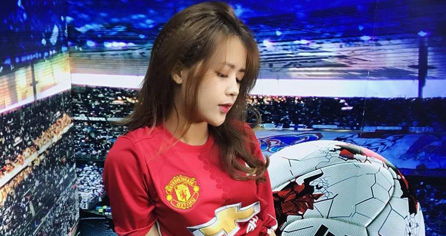 """MU, mu, manchester united,  Hotgirl Dương """"kẹo"""", mu vs tottenham, bóng đá, bong da"""