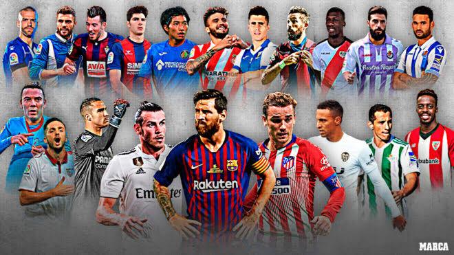 La Liga chính thức công bố lịch đấu, đá liên tục từ 11 tới 18/6