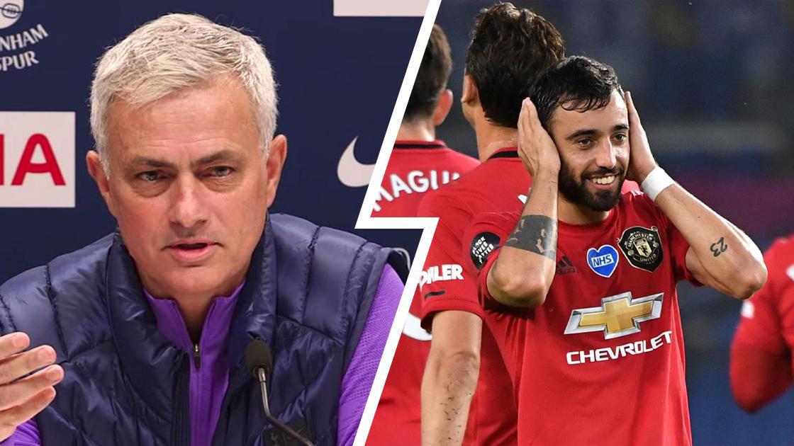 """Mourinho """"đá xoáy"""" MU khi được hỏi về cuộc đua Top 4 Ngoại hạng Anh"""