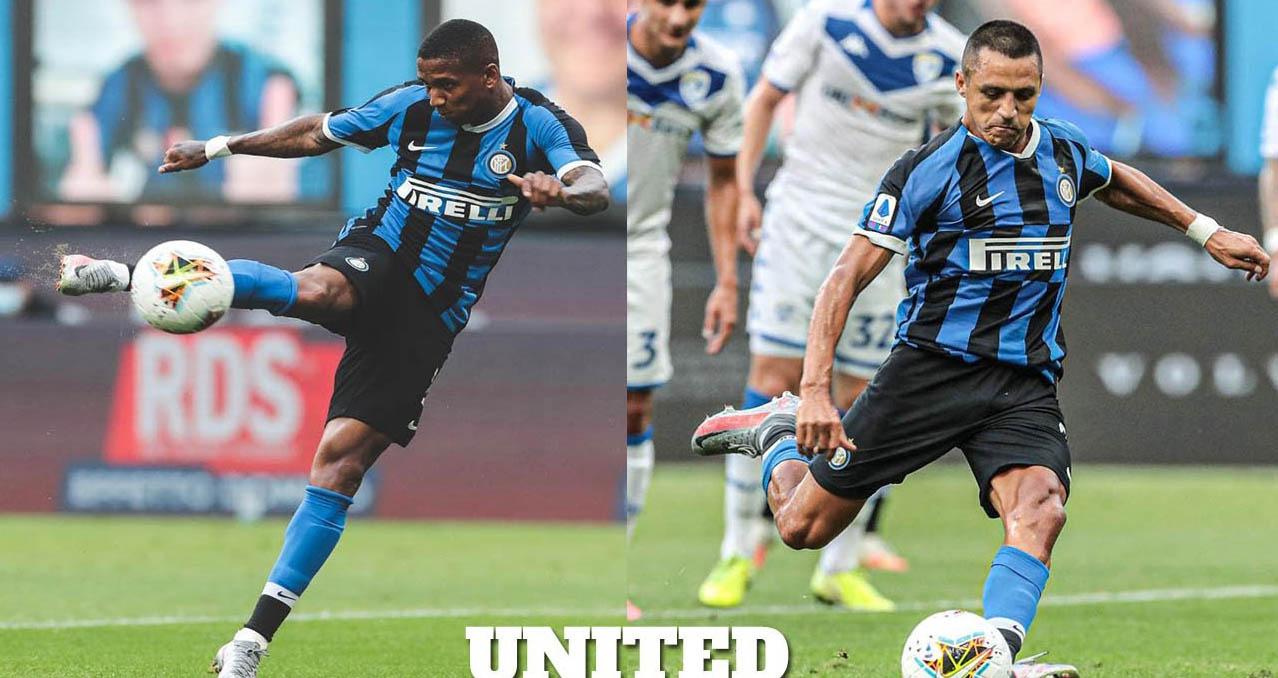 Ket qua bong da, Inter 6-0 Brescia, Kết quả bóng đá Ý, Ashley Young, Sanchez, MU, Inter vs Brescia, Inter Milan, kết quả Serie A, Serie A, bảng xếp hạng Serie A, bong da