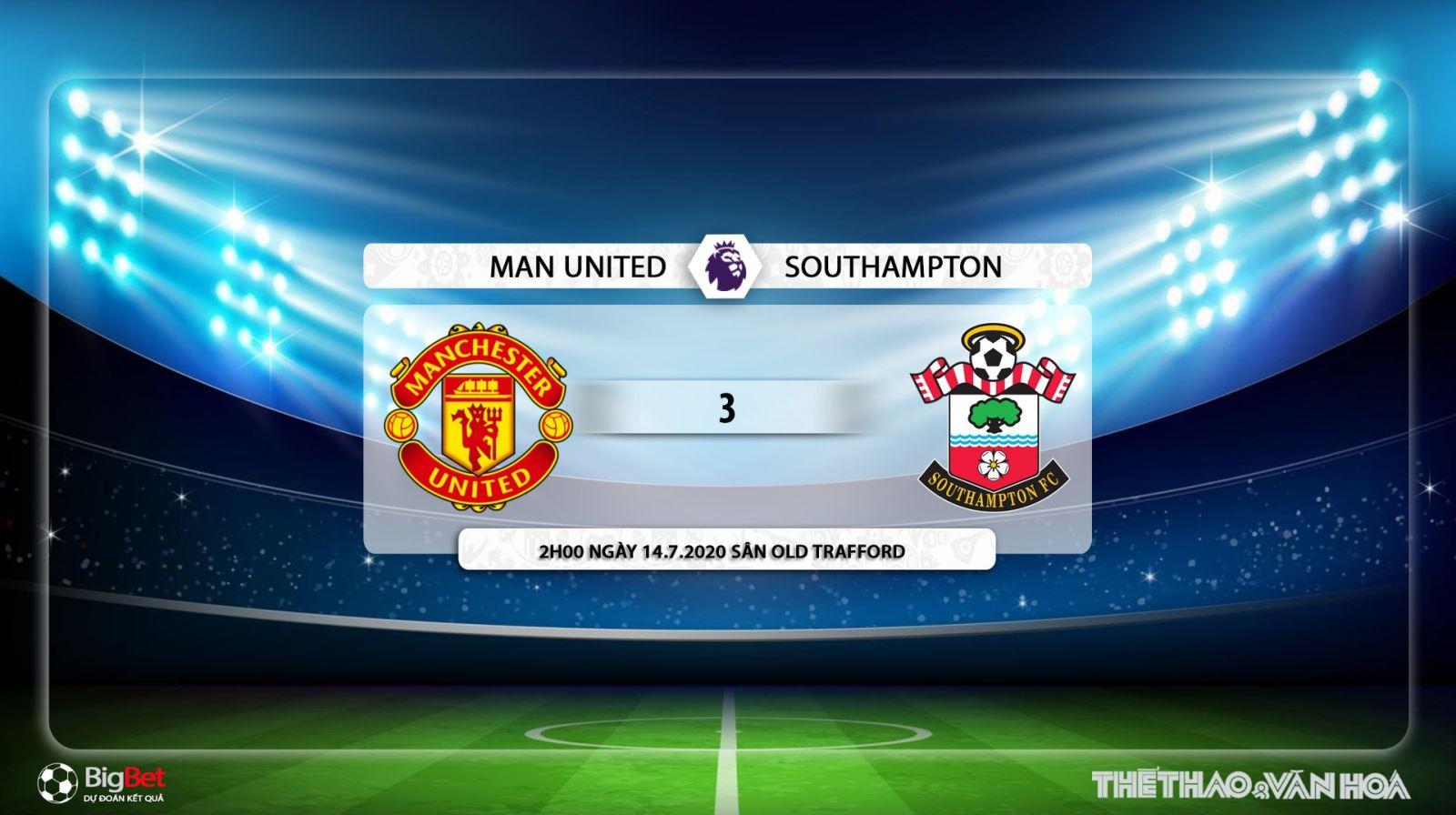 MU vs Southampton, mu, southampton, manchester united, bóng đá, bong da, lịch thi đấu bóng đá, soi kèo, kèo bóng đá