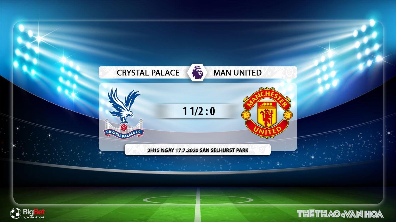 Crystal Palace vs MU, soi kèo Crystal Palace vs MU, trực tiếp Crystal Palace vs MU, dự đoán, nhận định, trực tiếp bóng đá, MU, Crystal Palace