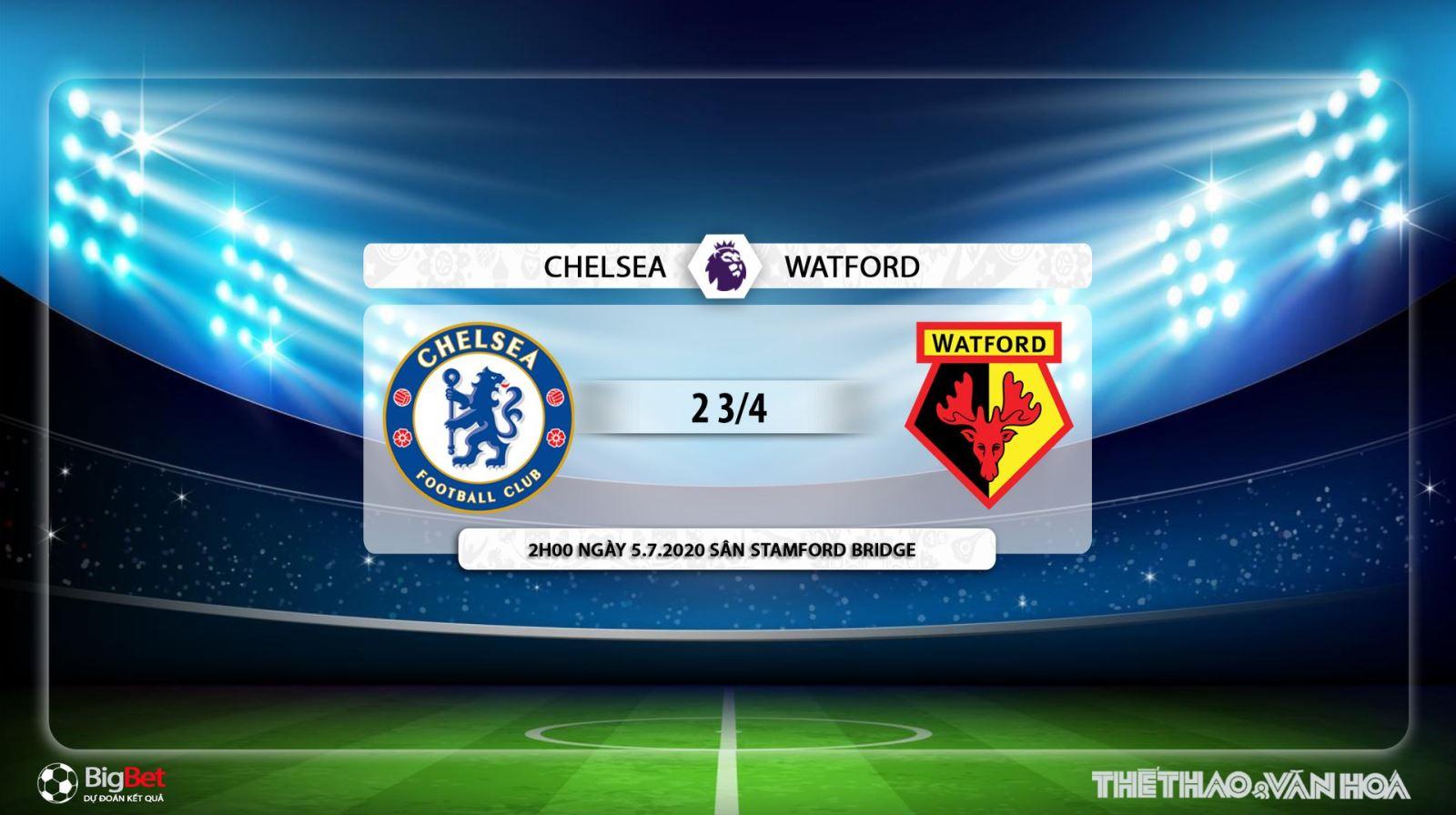 Chelsea vs Watford, trực tiếp bóng đá, Chelsea, Watford, soi kèo, kèo bóng đá, nhận định, dự đoán, lịch thi đấu bóng đá