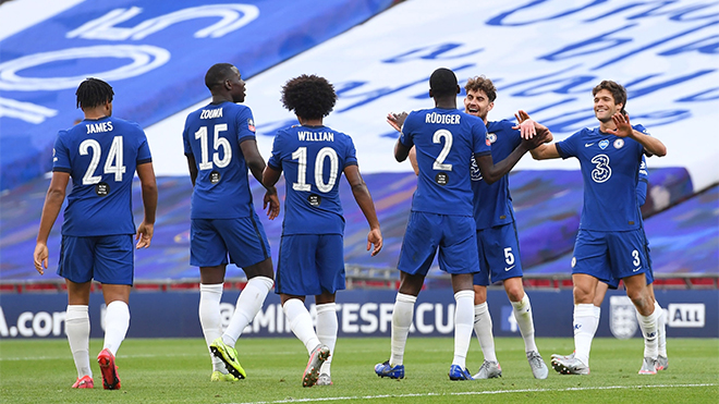 MU 1-3 Chelsea: De Gea sai lầm, Chelsea hẹn Arsenal ở chung kết FA Cup