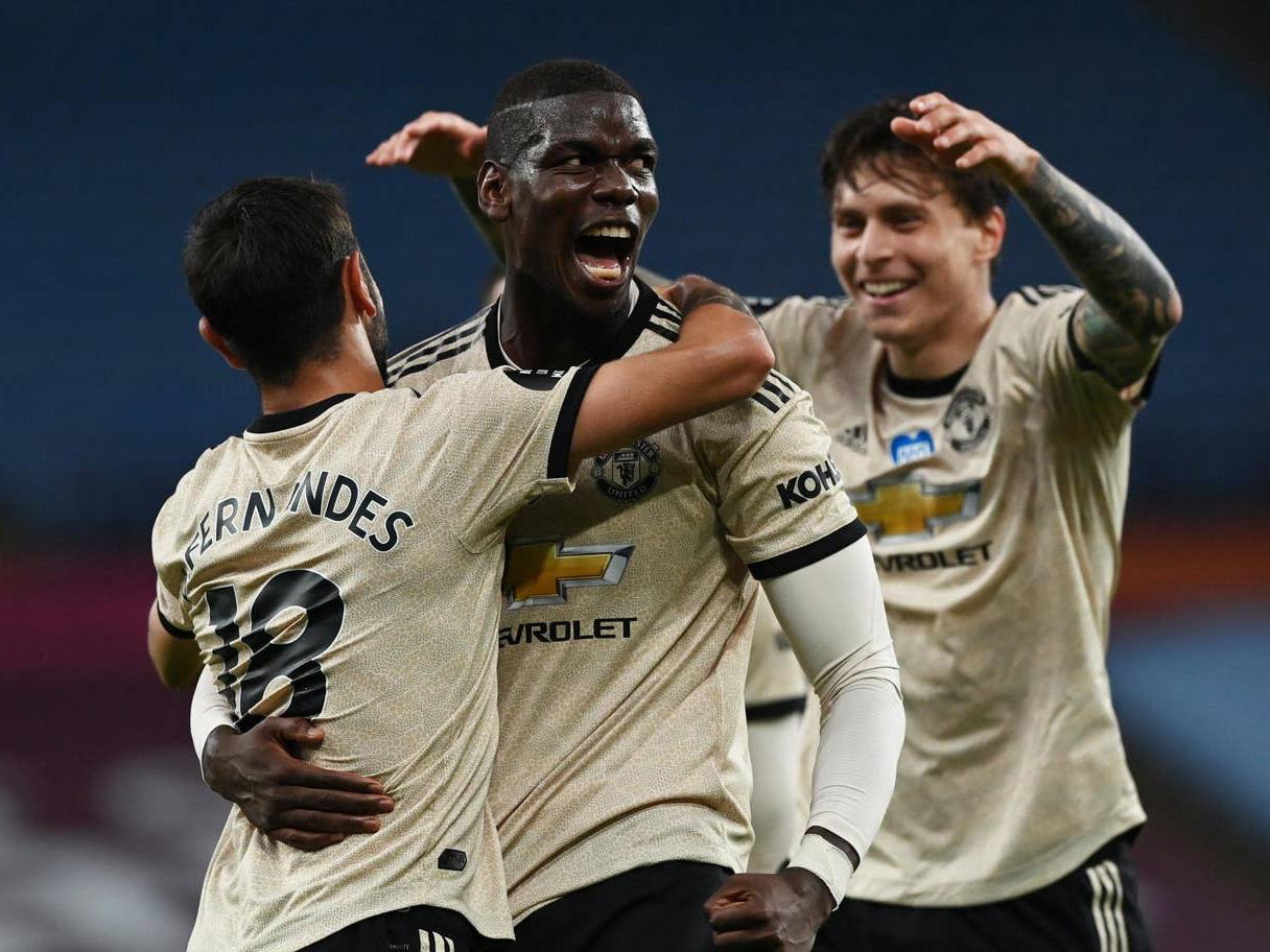 Aston Villa 0-3 MU: Bruno Fernandes và Pogba nổ súng, MU áp sát Leicester