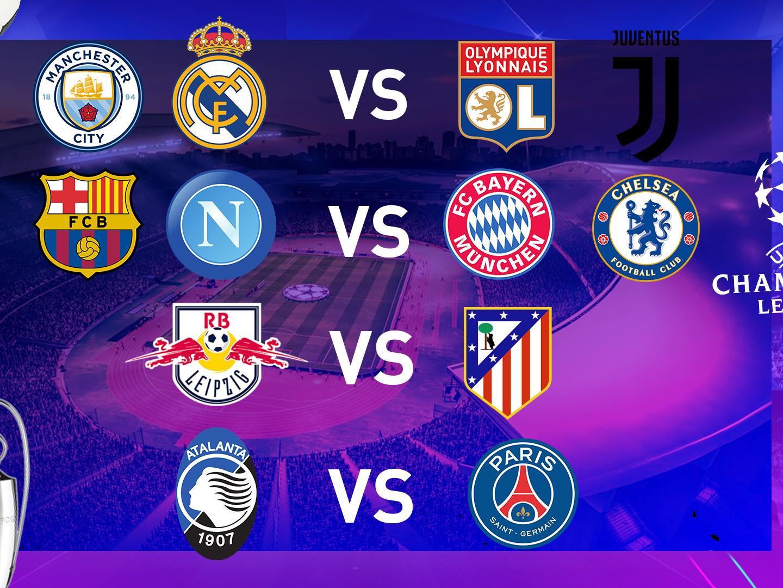 Bốc thăm Tứ kết cúp C1: Man City có thể gặp Juve, Barca đối mặt Bayern Munich