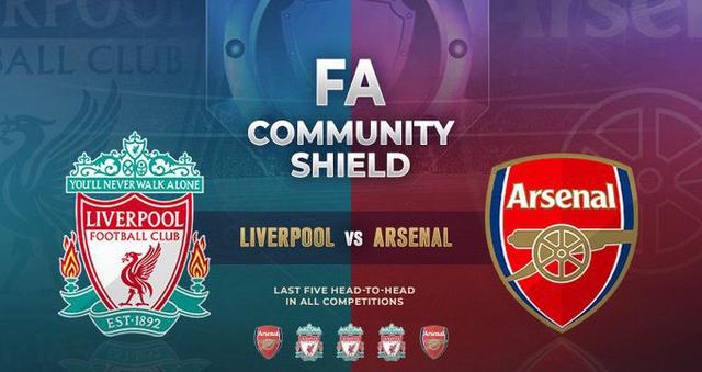 Arsenal vs Liverpool, trực tiếp Arsenal vs Liverpool, trực tiếp bóng đá, siêu cúp anh, arsenal, liverpool