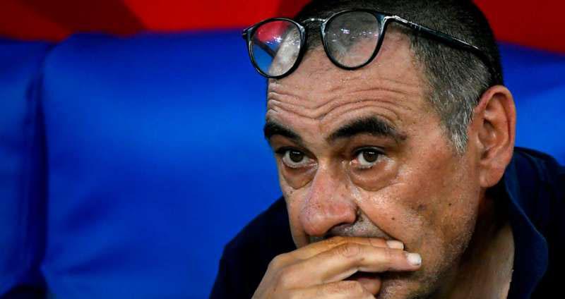 Juventus, Juve sa thải Sarri, Sarri rời Juventus, Juventus sa thải HLV, Juventus bị loại ở vòng 1/8 cúp C1, Juventus thay tướng, Juve, Sarri, bóng đá, bóng đá Ý