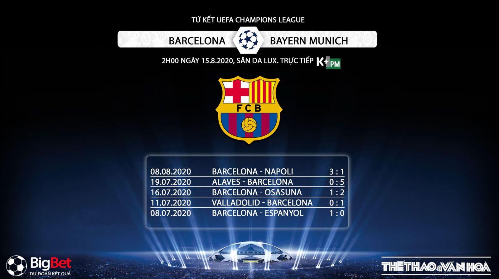 Barcelona vs Bayern Munich, soi kèo Barcelona vs Bayern Munich, nhận định Barcelona vs Bayern Munich, trực tiếp Barcelona vs Bayern Munich, bayern munich, barcelona
